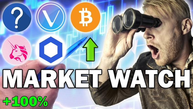Crypto Market Watch: Bitcoin PUMP Imminent! | VET, UNI, LINK Analysis