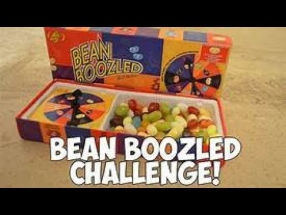 Bean boozled Challenge! ( Jag vet lång video men )