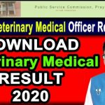 How to Download UPPSC Veterinary Medical Officer Result 2020